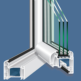 Plastic and Aluminum Window Frames